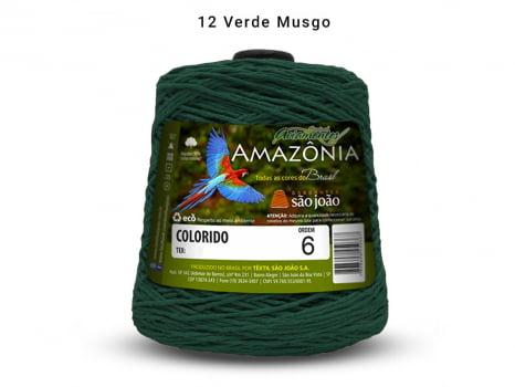 BARBANTE AMAZONIA 6 614M 12 VERDE MUSGO