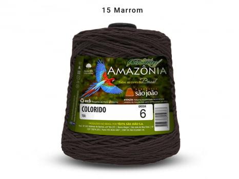 BARBANTE AMAZONIA 6 614M 15 MARROM