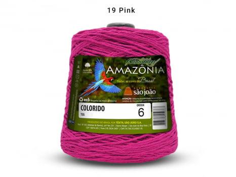 BARBANTE AMAZONIA 6 614M 19 PINK