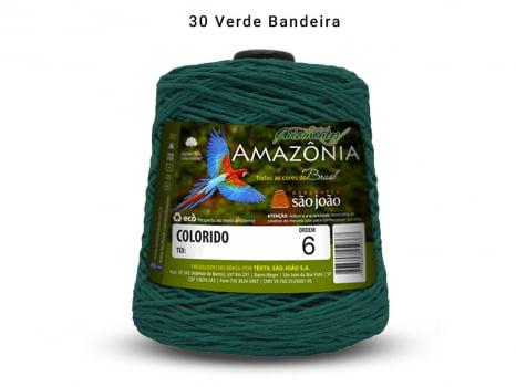 BARBANTE AMAZONIA 6 614M 30 VERDE BANDEIRA