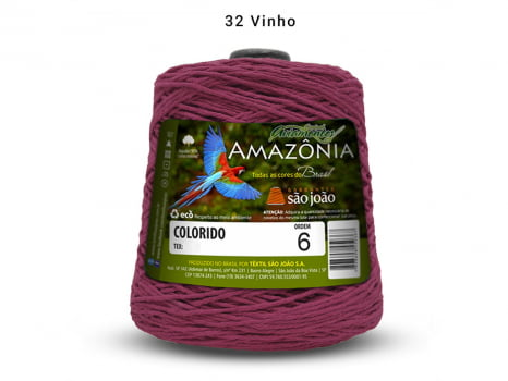 BARBANTE AMAZONIA 6 614M 32 VINHO