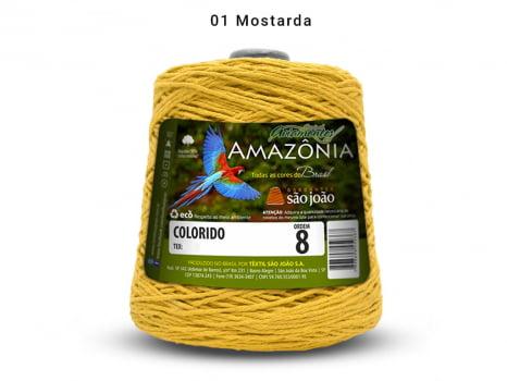 BARBANTE AMAZONIA 8 461M 01 MOSTARDA
