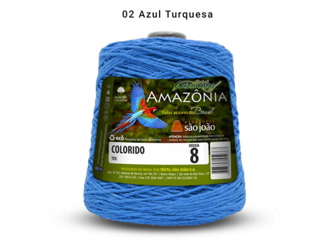 BARBANTE AMAZONIA 8 461M 02 TURQUESA