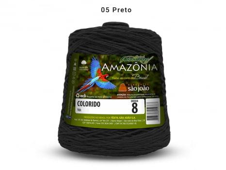 BARBANTE AMAZONIA 8 461M 05 PRETO