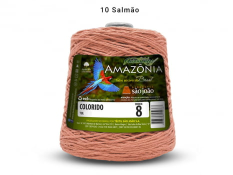 BARBANTE AMAZONIA 8 461M 10 SALMAO