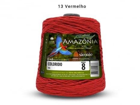 BARBANTE AMAZONIA 8 461M 13 VERMELHO