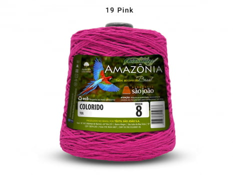 BARBANTE AMAZONIA 8 461M 19 PINK
