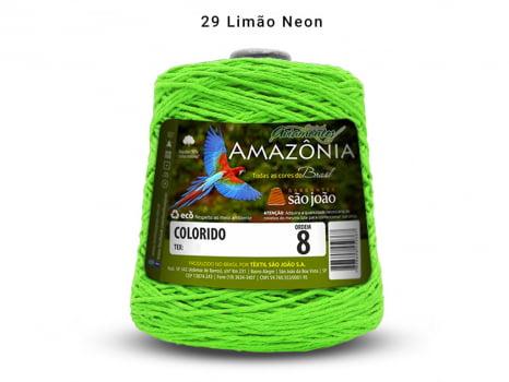 BARBANTE AMAZONIA 8 461M 29 LIMAO NEON