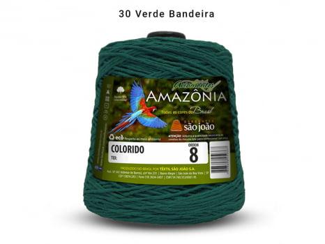 BARBANTE AMAZONIA 8 461M 30 VERDE BANDEIRA