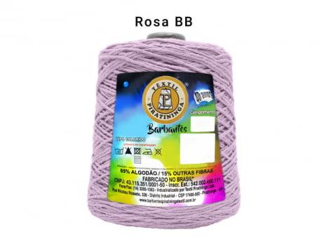BARBANTE PIRATININGA 4/6 600G ROSA BEBE