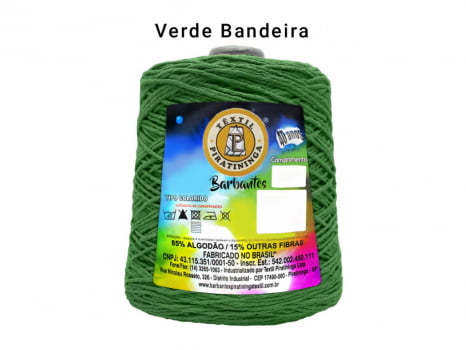 BARBANTE PIRATININGA 4/6 600G VERDE BANDEIRA