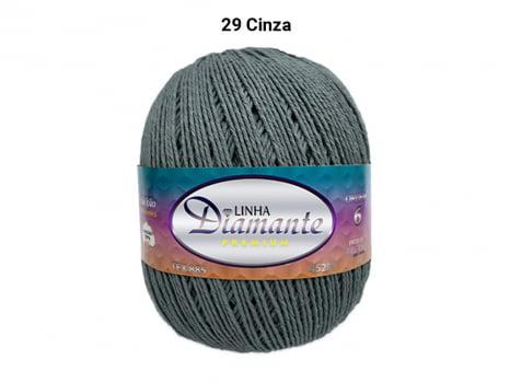 BARBANTE DIAMANTE PREMIUM 4/6 DP0029 CINZA