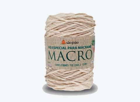 BARBANTE MACRO 400G 00 CRU