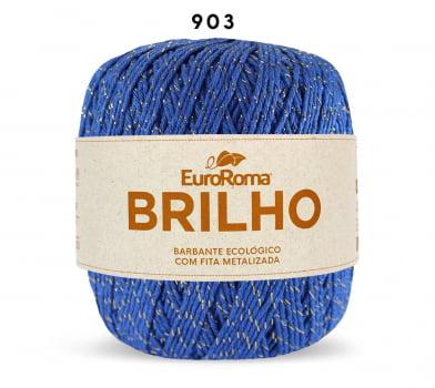 EUROROMA BRILHO OURO 6 400G AZUL ROYAL