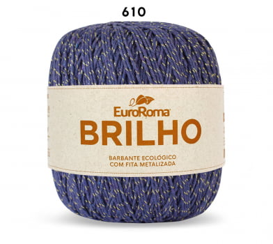 EUROROMA BRILHO OURO 6 400G ROXO