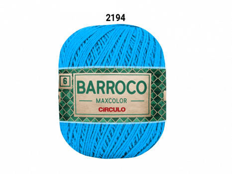 BARROCO MAXCOLOR 6 400G 2194 TURQUESA
