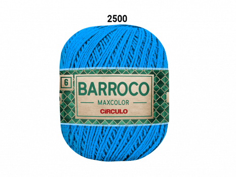 BARROCO MAXCOLOR 6 400G 2500 ACQUA