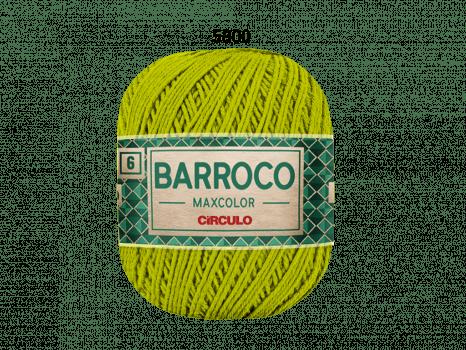 BARROCO MAXCOLOR 6 400G 5800 PISTACHE