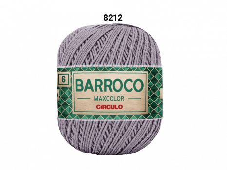 BARROCO MAXCOLOR 6 400G 8212 CROMADO