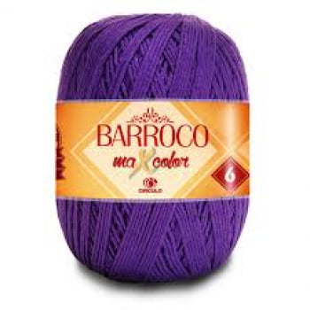 (FORA DE LINHA) BARROCO MAXCOLOR 6 400G 6290 PURPURA