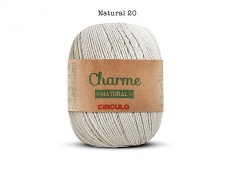 LINHA CHARME 150G 0020 NATURAL