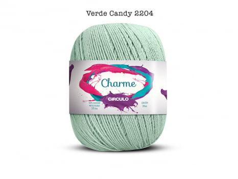 LINHA CHARME 150G 2204 VERDE CANDY