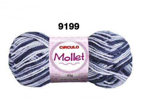 MOLLET 40G MULTICOLOR 9199