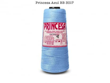 LINHA PRINCESA 3017 AZUL BEBE