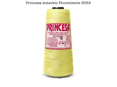 LINHA PRINCESA 3053 AMARELO FLUOR