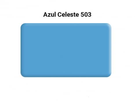 MASSA PARA BISCUIT ACRILEX 90G 503 AZUL CELESTE